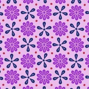 Peoria Mu - Flowers Pink