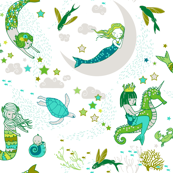 Mermaid Lullaby (Green)