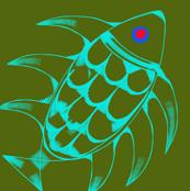 Aqua Fish Pink Eye
