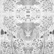maisies meadow B&W