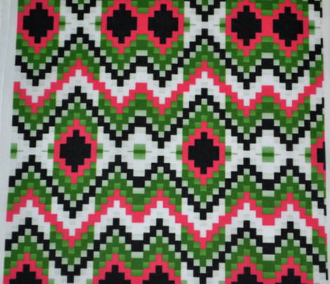 Christmas Bargello