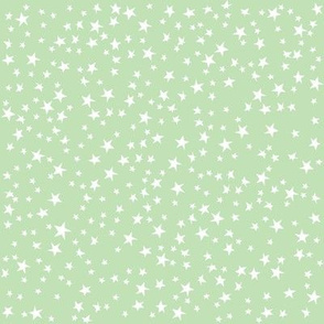 Scattered Stars (Pastel Green)