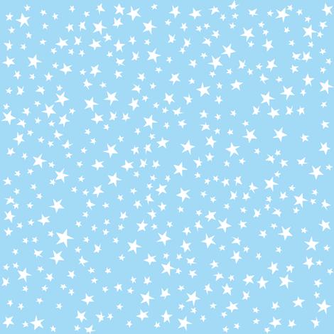 Scattered Stars (Pastel Blue)