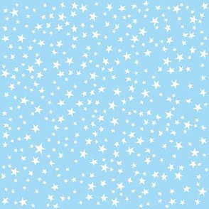 Scattered Stars (Pastel Blue)