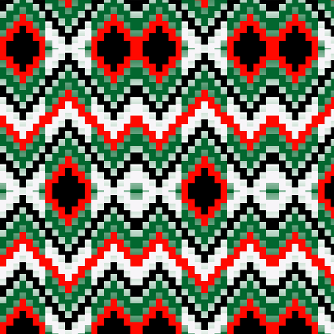 Christmas Bargello2