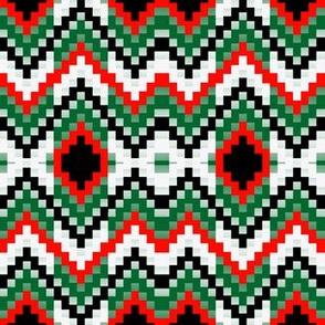 Christmas Bargello2