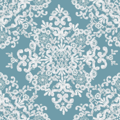 Baroque Lace in Wedgwood