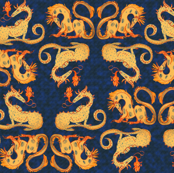 Small Fire Dragons