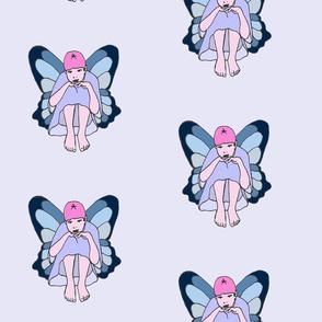 Teal Pensive Fairy