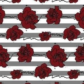 Rose Stripe Pattern
