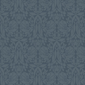 damask frances soft teal
