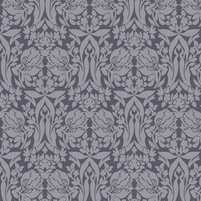 damask frances winter plum