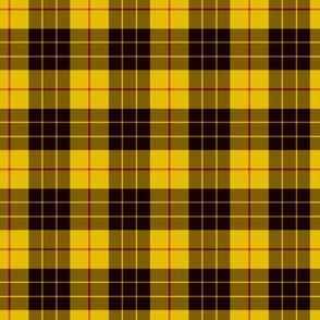 "2"" scale MacLeod tartan, custom colorway"