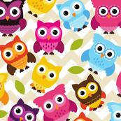 Chevron Owls
