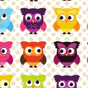 Sweet Owls and Dots