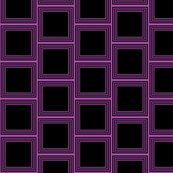 black and purple squares