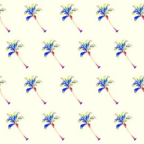 PALM TREE Diagonal Cream