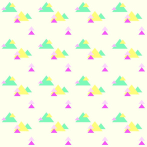 Neon Triangles II