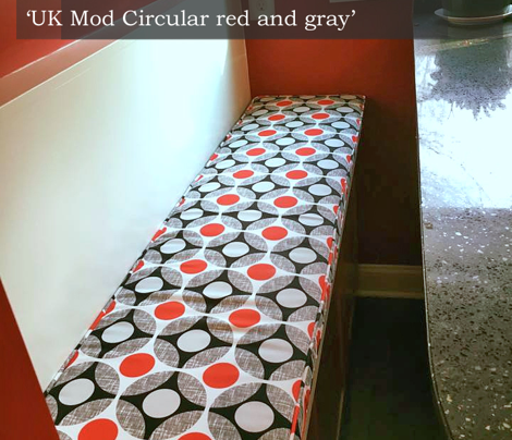UK Mod Circular red and gray by Su_G