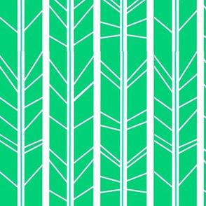 Jade tree branch herringbone