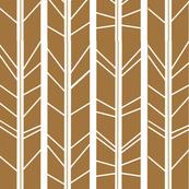 tan tree branch herringbone