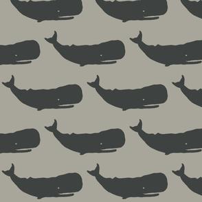 Whale XL dark slate on grey-2015