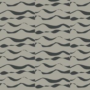 Waves XL dark slate on grey-2015-ch
