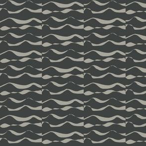 Waves MED grey on dark slate-for Needel