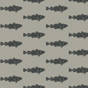 Cod Medium dark slate on grey- 2015