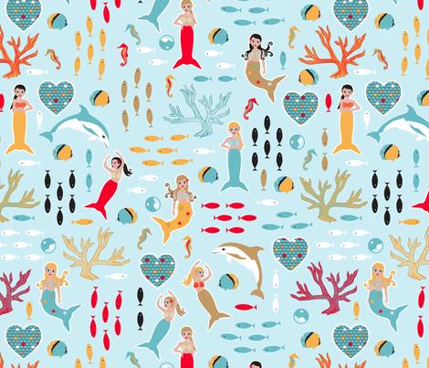 Lovely Mermaids
