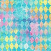 Washed Watercolor Triangle Rain