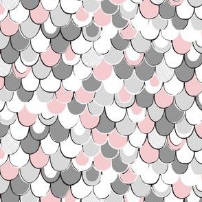 Scale Away (gray/pink)
