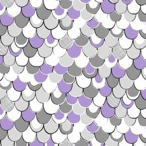 Scale Away Gray/Purple