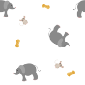 Elephants, Mice and Peanuts