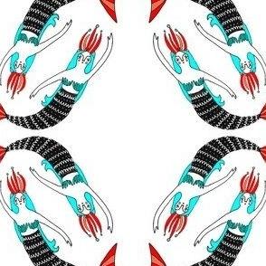 mermaids by ali moline
