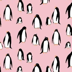 A Plethora of Penguins (Pink)