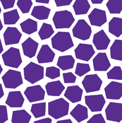 Geo Giraffe Bright Purple