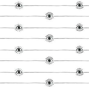 Eyeballs with extra lashes