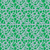 Green Rope Pattern Repeat Small NAVY LINES!