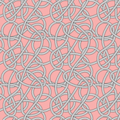 Pink Rope Pattern Repeat Small