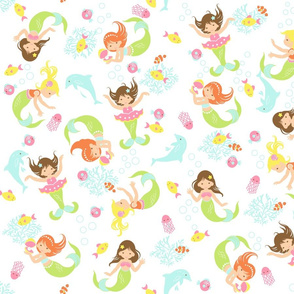 Mermaid_Frolic_Pattern
