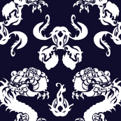 DRAGON NAVY BLUE