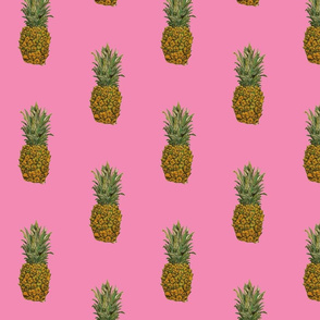 Large Pink Pineapple