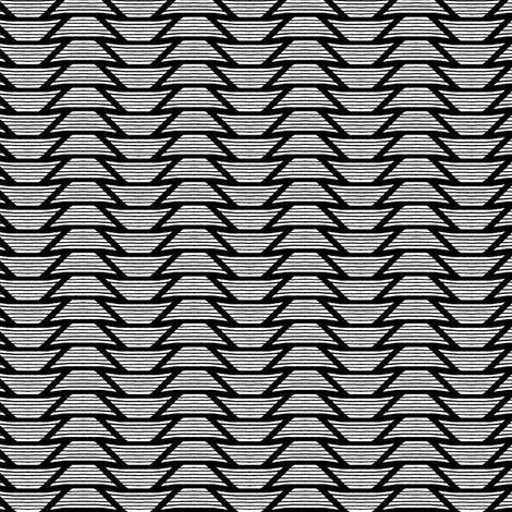 Shaded Trapezoid - Black on White
