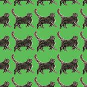 Kitsch Cat Pattern