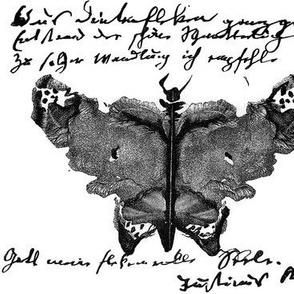 Butterfly Ink Blot Tattoo