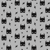Bat Mask - Gray