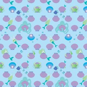 MERMAIDS-HIDE-AND-SEEK-BIG-PEARL-spoonflower-contest-May-19_2015-copy