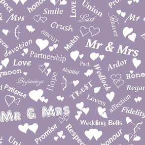 Mr_and_Mrs_and_words_of_love_White_on_Mauve_A090AE