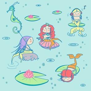lily bubble mermaid